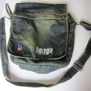 Bongo Satchel - Cross Body Denim Bag